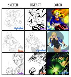 Artist Swap: DC by CovaDax