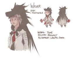Wylver Ref by Marraphy