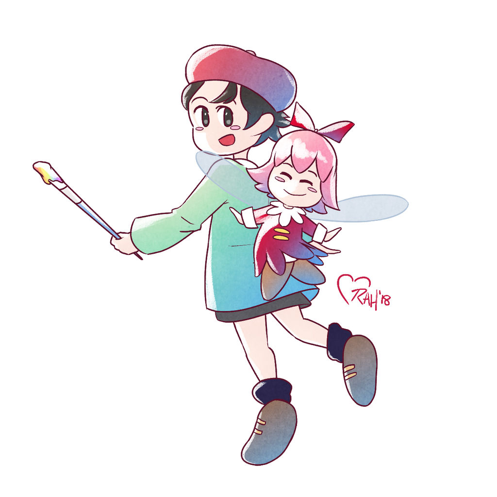 Adeleine and Ribbon by Marraphy