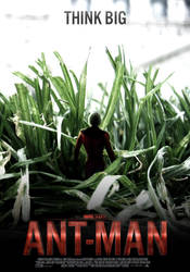 Ant-Man Poster by SkinnyGlasses