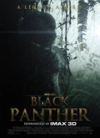 Black Panther Poster by SkinnyGlasses