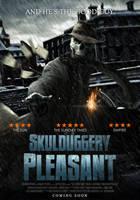 Skulduggery Pleasant Poster by SkinnyGlasses
