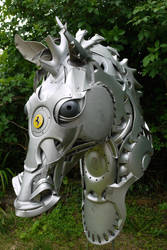 Horse head by HubcapCreatures