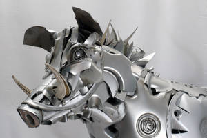 Wild Boar detail by HubcapCreatures