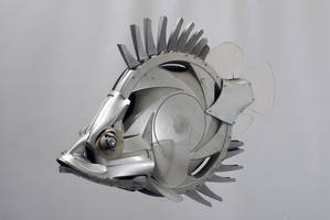 Leaf Fish by HubcapCreatures