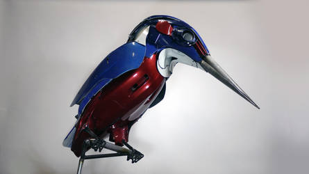 Kingfisher by HubcapCreatures