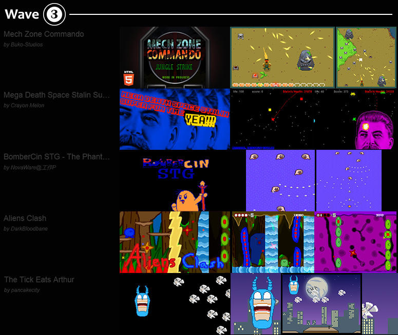 ShmupJam Games 03 by buko-studios