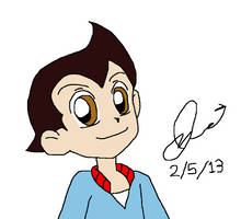Astro Boy in PPGZ style by resotii
