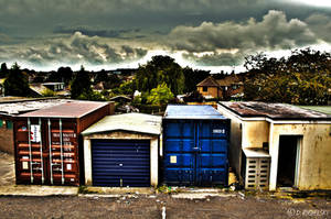 A Back Alley. by Rygas