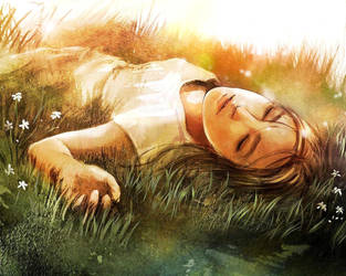 She felt.. by Jungshan