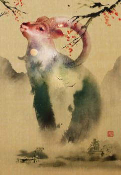 The Sun and Moon by Jungshan
