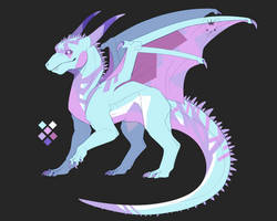 pastel dragon adopt (closed) by owlapin