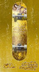 Skateboard Ska by chachin