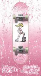Skateboard Princesa Peach by chachin