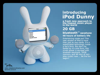 iPod Dunny by silke3d