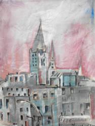urban landscape sketch 3 by Messydog