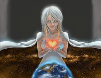 Goddess of Love by KatManga03