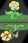 Flowey The Flower ! by SUGARKITTYCAT04