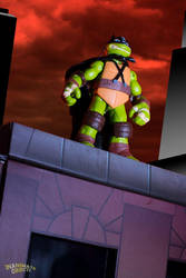 Mikey the Dark Turtle by The-Casimir