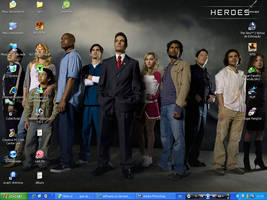 Heroes Desktop by jeffsama