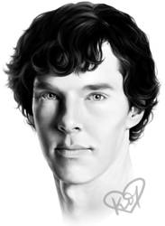 + Benedict Cumberbatch + by ToxicOxygen