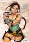 Lara Croft June 2010 by CarolaFunder