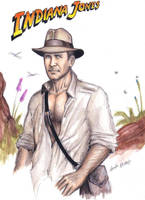 Indiana Jones by CarolaFunder