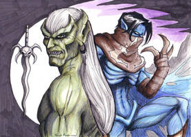 Kain and Raziel by CarolaFunder