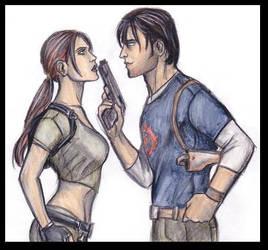 Lara and Kurtis part three by CarolaFunder