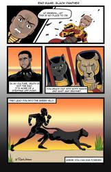 Infinity War: Black Panther by DunadanX