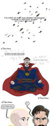 Avengers Infinity War: Doctor Strange by DunadanX