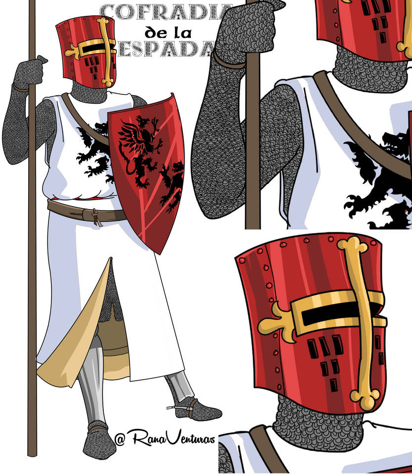 Medieval Knight Detail by DunadanX