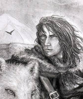 Jon Snow by SaBenerica