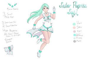 Crystal Animamates: - Sailor Fluorite Squid by Espeh
