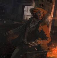 Old West Wolverine by Raymondttan