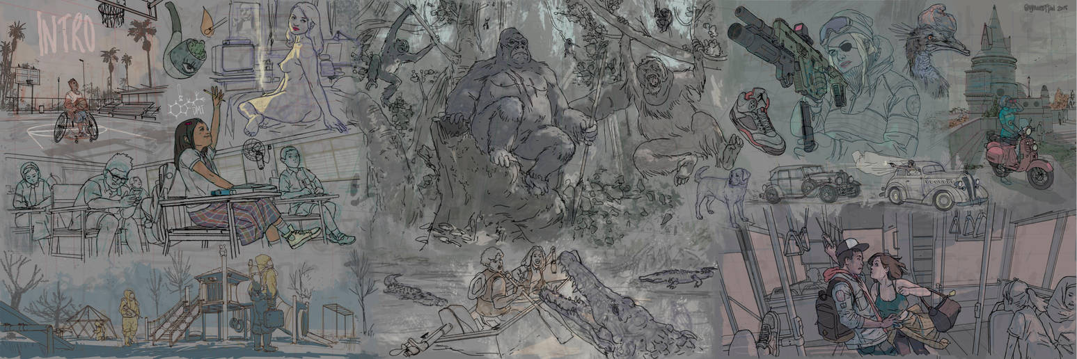 Sketch 01-Introduction by Raymondttan