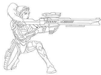 Starcraft Ghost: Nova by Jaripeich