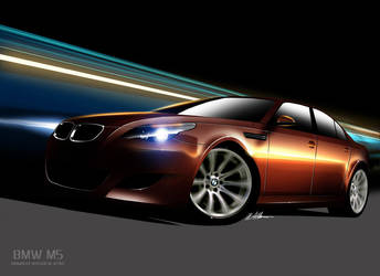 BMW M5 by husseindesign