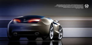 Mercedes-Benz SLC - rear view by husseindesign