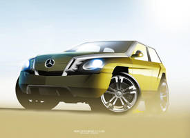 Mercedes-Benz G-class (update) by husseindesign