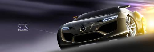 Mercedes-Benz SLS 1 by husseindesign