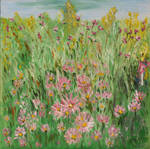 Joceylne's Pink in the Field by CarolynYM