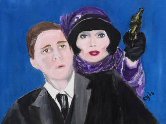 Jack and Phryne - Miss Fisher's Murder Mysteries by CarolynYM