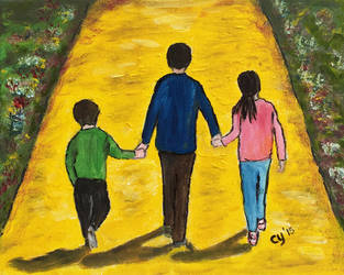 Follow the Yellow Brick Road by CarolynYM
