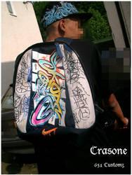 Customized Bag + Cap by jonix