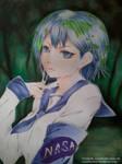Earth chan by JuneFanarts