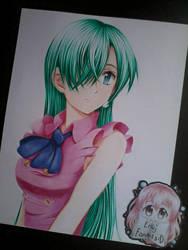 Elizabeth from nanatsu no taizai by JuneFanarts