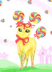 Lollipop Eeveelution by GoreChick