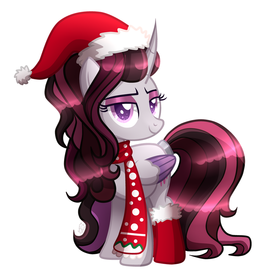 mlp commission poison apple winter clothes by sugaryicecreammlp on