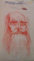 Leonardo Da Vinci by chevaun99